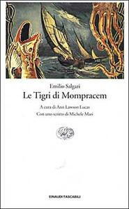 Le Tigri di Mompracem - Emilio Salgari - copertina