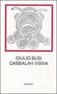 La Qabbalah visiva - Giulio Busi - copertina