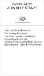 Libro Aria alle stanze Gabriella Leto