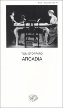 Arcadia - Tom Stoppard - copertina