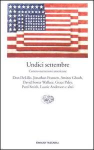 Undici settembre. Contro-narrazioni americane - copertina