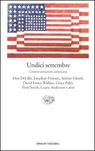 Libro Undici settembre. Contro-narrazioni americane
