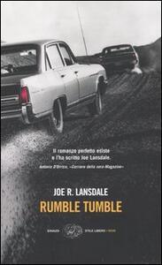 Rumble tumble - Joe R. Lansdale - copertina