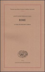 Rime - Giovanni Della Casa - copertina