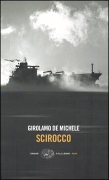 Scirocco - Girolamo De Michele - copertina