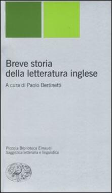 Warholgenova.it Breve storia della letteratura inglese Image