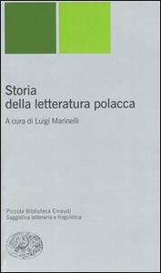 Storia della letteratura polacca - copertina