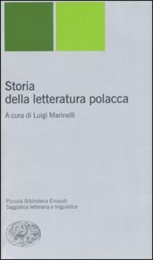 Listadelpopolo.it Storia della letteratura polacca Image