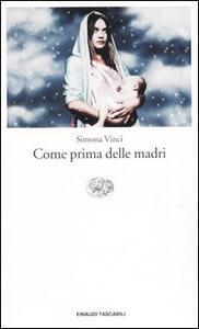 Come prima delle madri - Simona Vinci - copertina