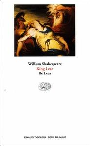 King Lear-Re Lear - William Shakespeare - copertina
