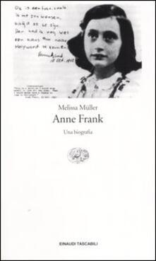 Milanospringparade.it Anne Frank. Una biografia Image