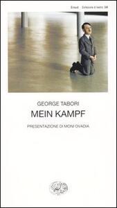 Mein kampf - George Tabori - copertina