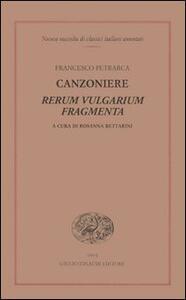 Canzoniere. Rerum vulgarium fragmenta - Francesco Petrarca - copertina