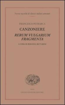 Cefalufilmfestival.it Canzoniere. Rerum vulgarium fragmenta Image