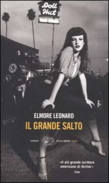 Il grande salto - Elmore Leonard - copertina