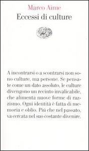 Eccessi di culture - Marco Aime - copertina