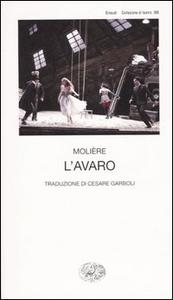 Libro L' avaro Molière