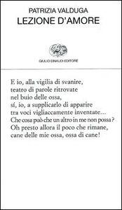Foto Cover di Lezione d'amore, Libro di Patrizia Valduga, edito da Einaudi