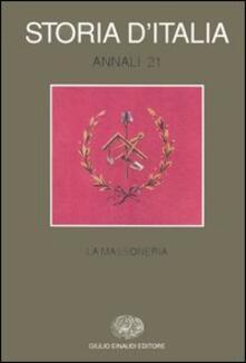 Aboutschuster.de Storia d'Italia. Annali. Vol. 21: La massoneria. Image