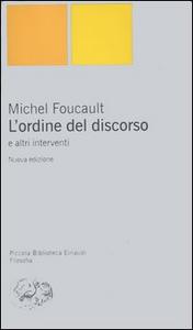 Libro L' ordine del discorso e altri interventi Michel Foucault