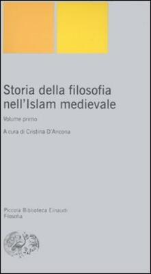 Storia della filosofia nell'Islam medievale. Vol. 1 - copertina