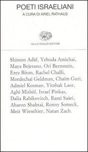Poeti israeliani. Testo ebraico a fronte - copertina