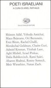 Libro Poeti israeliani. Testo ebraico a fronte