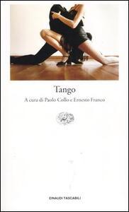 Tango. Testo spagnolo a fronte - copertina