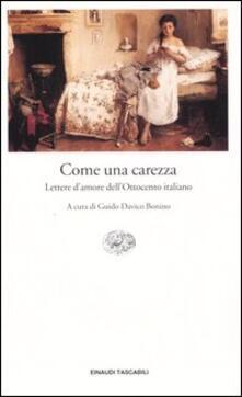 Grandtoureventi.it Come una carezza. Lettere d'amore dell'Ottocento italiano Image