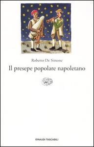 Il presepe popolare napoletano - Roberto De Simone - copertina