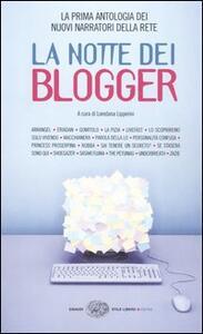 La notte dei blogger - copertina