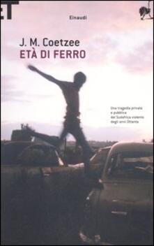 Librisulrazzismo.it Età di ferro Image
