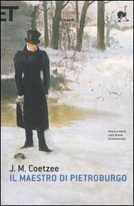 Il maestro di Pietroburgo - J. M. Coetzee - copertina