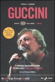 Parole e canzoni. Con DVD - Francesco Guccini - copertina