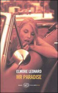 Mr Paradise - Elmore Leonard - copertina
