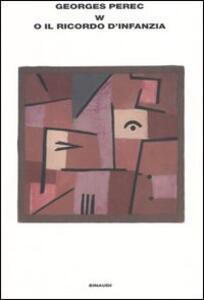 W o il ricordo d'infanzia - Georges Perec - copertina