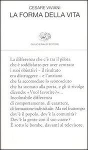 Libro La forma della vita Cesare Viviani