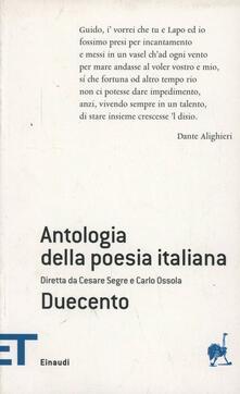 Liberauniversitascandicci.it Antologia della poesia italiana. Vol. 1: Duecento. Image