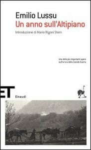Libro Un anno sull'altipiano Emilio Lussu