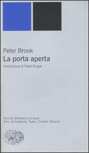 La porta aperta - Peter Brook - copertina
