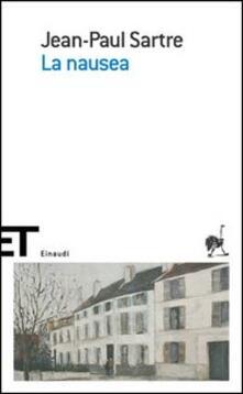 La nausea - Jean-Paul Sartre - copertina