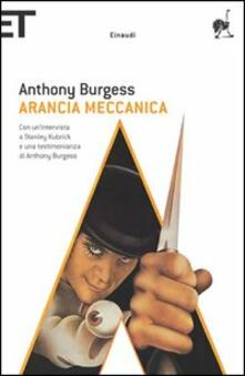 Arancia meccanica - Anthony Burgess - copertina