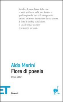 Fiore di poesia (1951-1997) - Alda Merini - copertina