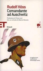 Comandante ad Auschwitz - Rudolf Höss - copertina