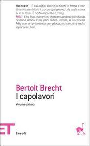 Libro Capolavori Bertolt Brecht
