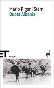 Foto Cover di Quota Albania, Libro di Mario Rigoni Stern, edito da Einaudi