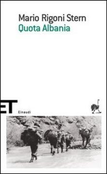 Quota Albania - Mario Rigoni Stern - copertina