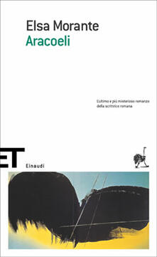 Aracoeli - Elsa Morante - copertina