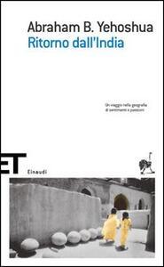 Ritorno dall'India - Abraham B. Yehoshua - copertina