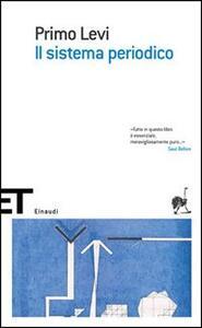 Il sistema periodico - Primo Levi - copertina